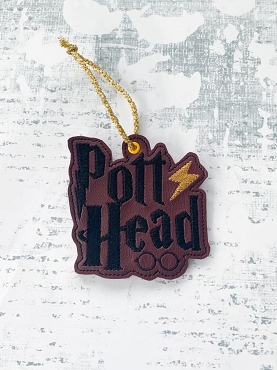 Pott Head Ornament Embroidery Design